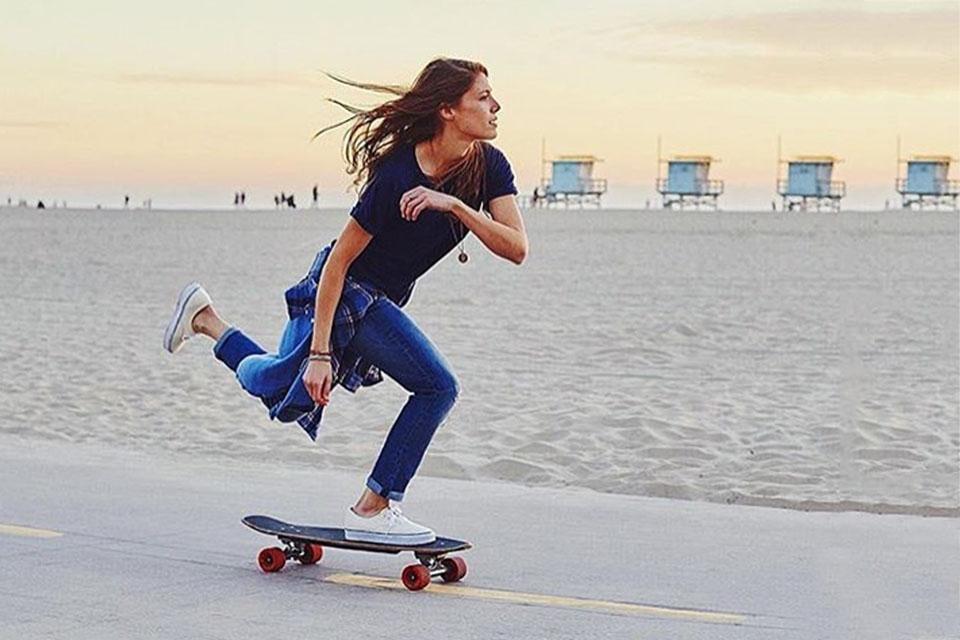 Tipos de Skate: Skate Cruiser