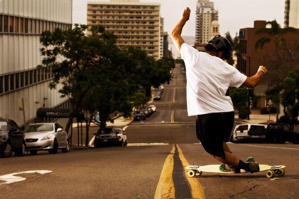 Tipos de Skate: Skate Longboard