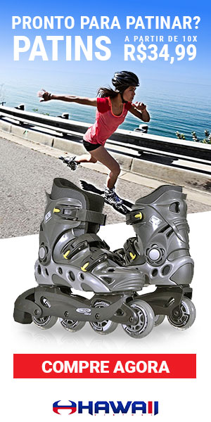 Pronto para patinar? Patins a partir de 10x R$34,99