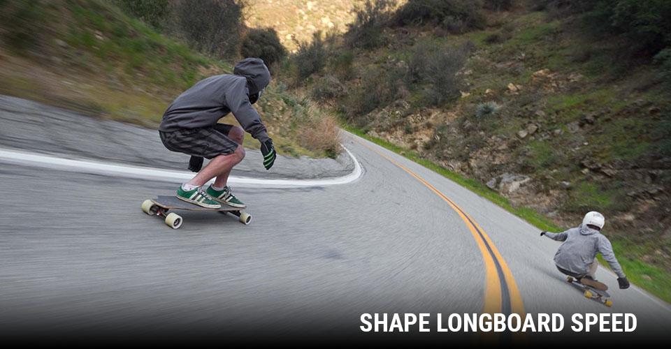 Tipos de Shape: Longboard Speed