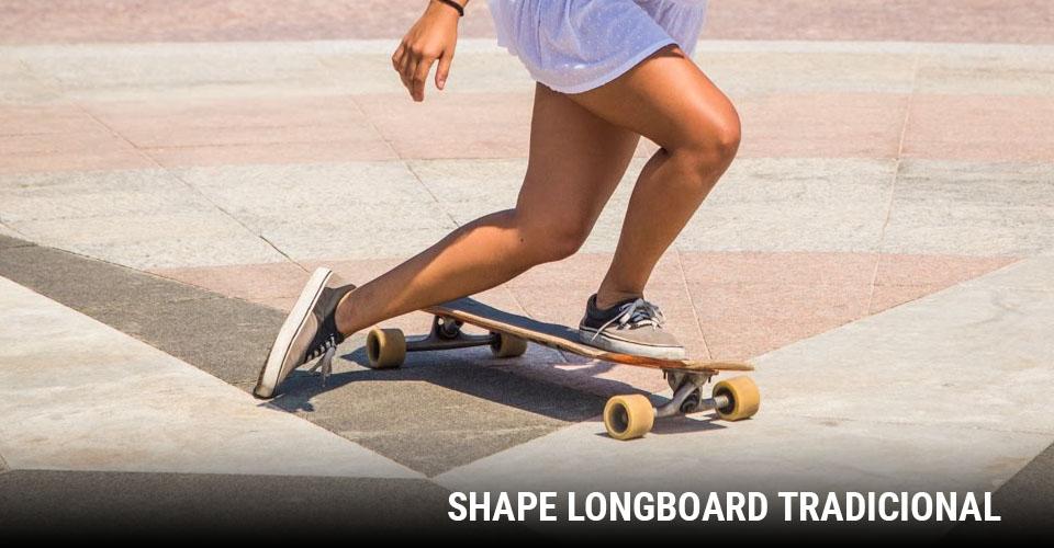 Tipos de Shape: Longboard Tradicional