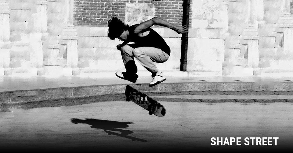 Tipos de Shape: Street