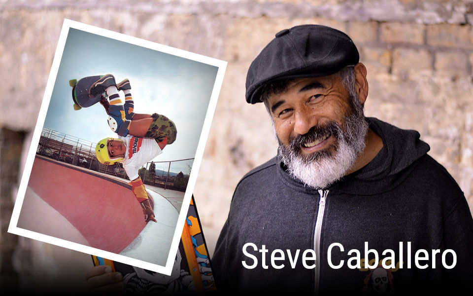 Skatistas Famosos: Steve Caballero