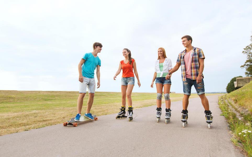 Patins para iniciantes: como andar com segurança?