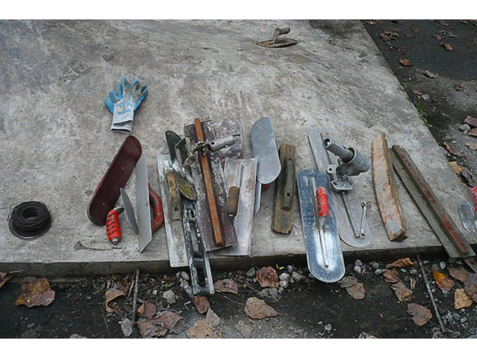 como construir uma pista de skate ferramentas