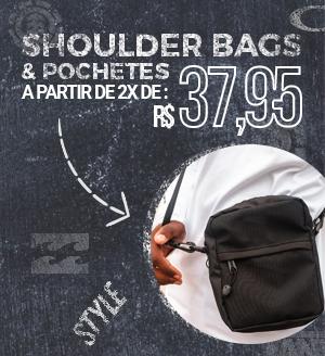Shoulder Bags a partir de 2x de R$37,95