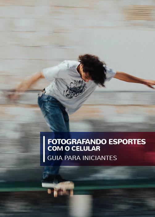 Fotografando esportes com o telefone