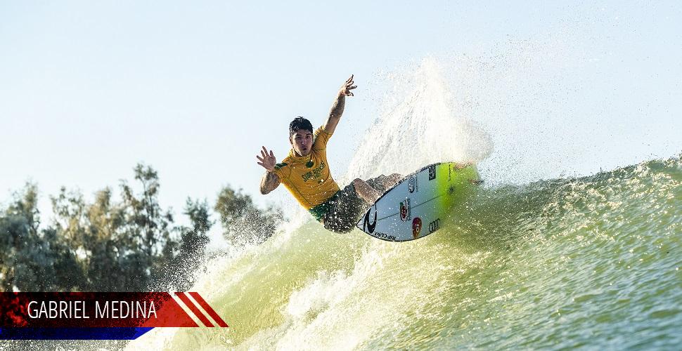 Gabriel Medina, surfista profissional