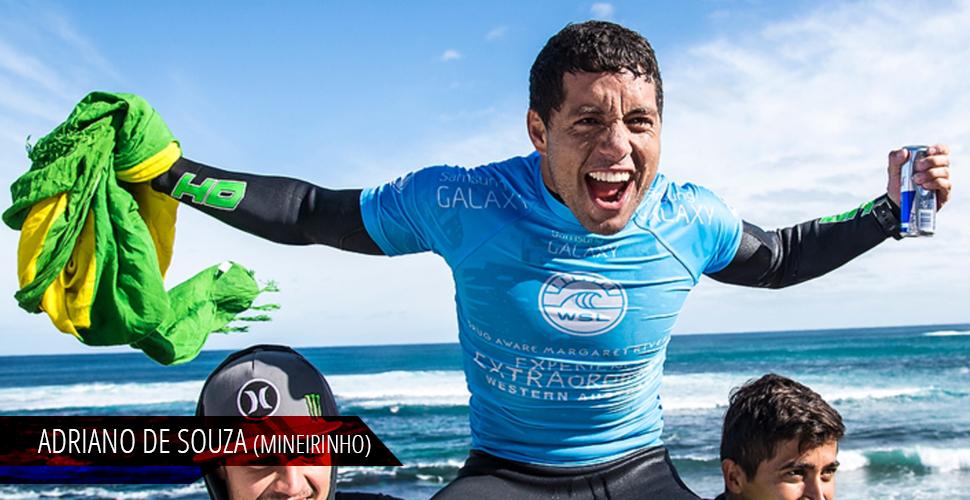Adriano de Souza (mineirinho), surfista profissional