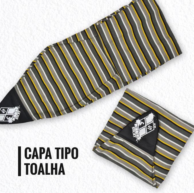 capa para prancha tipo toalha