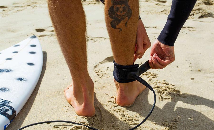 Leash para pranchad de surfe