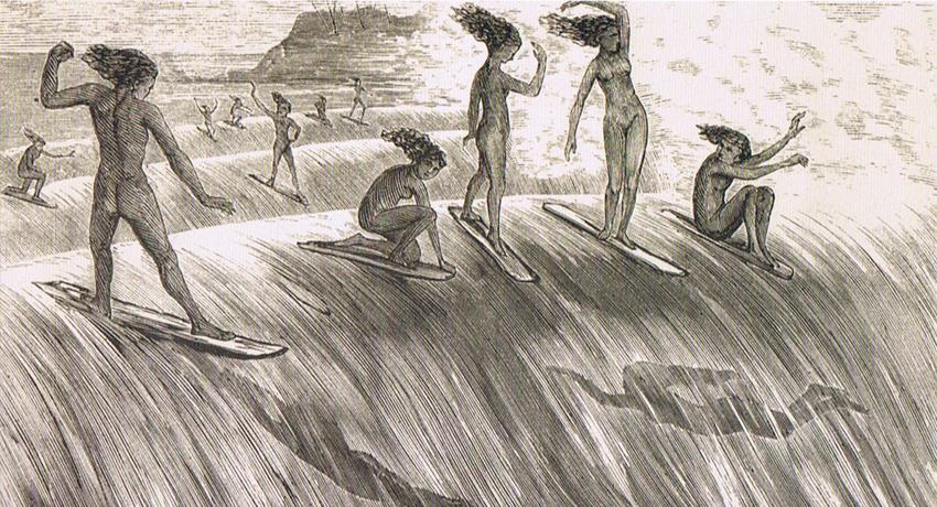 História do Surf